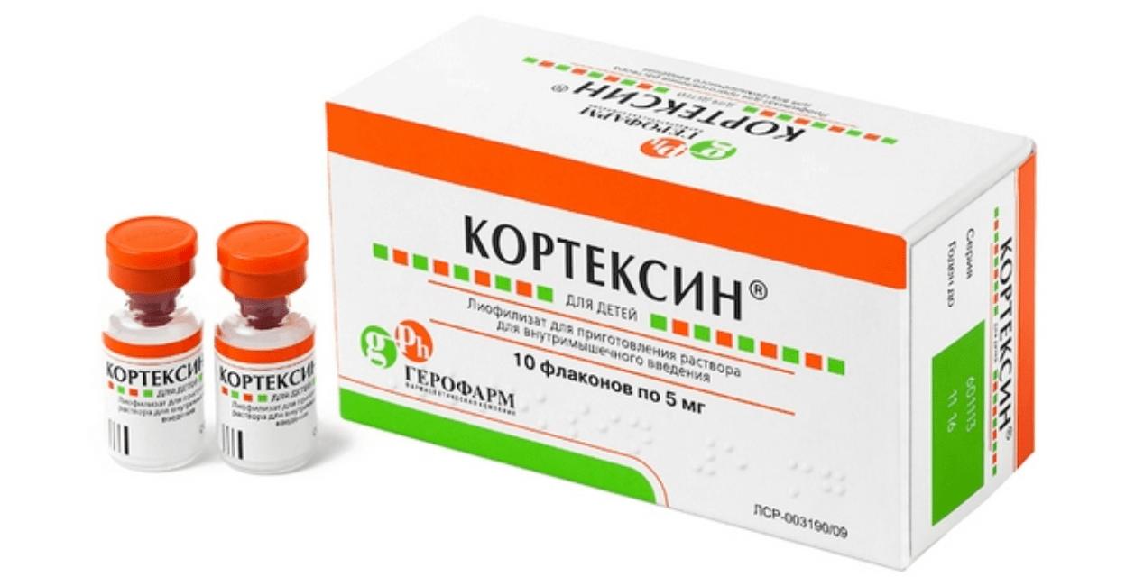 Кортексин - раствор для уколов во флаконах