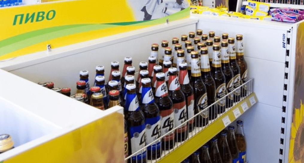Продажа пива на заправках